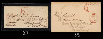 cover 1860 (1 Oct.) mourning e
