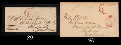 cover 1862 (26 Dec.) envelope