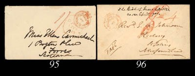 cover 1849 (25 June) envelope