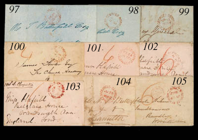 cover 1854 (12 Sept.) local en