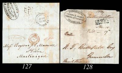 cover 1849 (14 Nov.) entire le