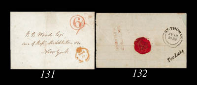 cover 1849 (13 Nov.) entire fr
