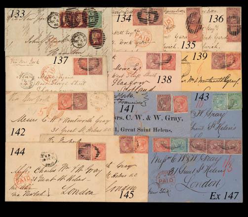 cover 1872 (17 Jan.) envelope