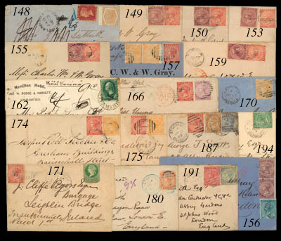 cover 1873 (27 Mar.) envelope