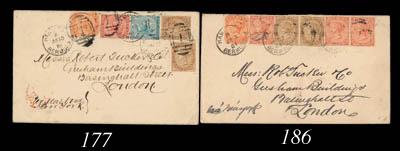 cover 1884 (3 July) envelope (