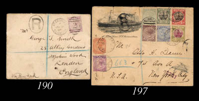 cover 1906 (16 Oct.) envelope