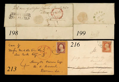 cover 1858 (21 Oct.) envelope