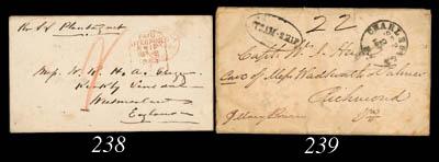 cover 1864 (24 Aug.) entire le