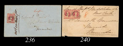 cover 1864 (18 Oct.) envelope
