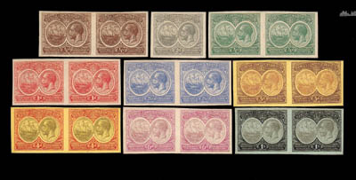 Proof  ¼d. to 1/- set of nine