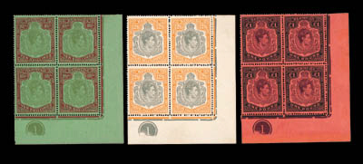 unused Block of Four  1943 (Ma