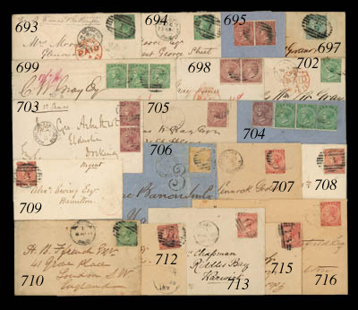 cover 1873 (14 July) envelope