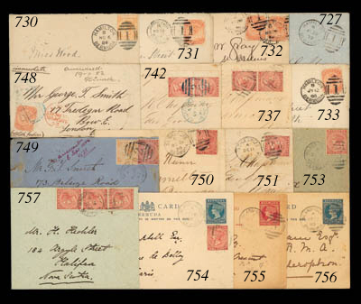 cover 1888 (29 Mar.) envelope