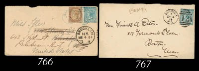 cover 1884 (27 Feb.) envelope