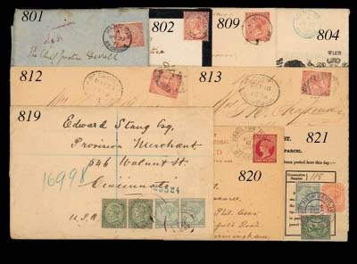 cover 1897 (12 Apr.) envelope