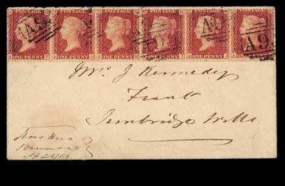 cover 1862 (26 Sept.) officer'