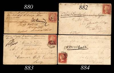 cover 1864 sailor's envelope (