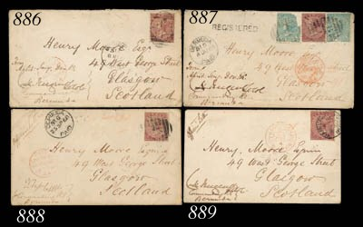 cover 1868 (8 May) officer's e