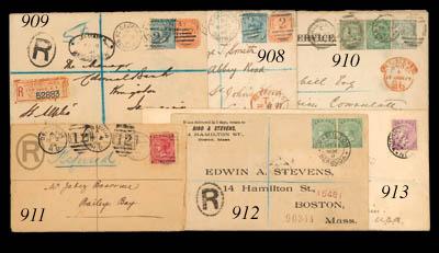 cover 1891 (13 July) envelope
