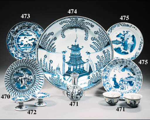 An assorted lot of dishes