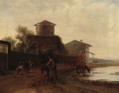 Follower of Pieter van Laer, c