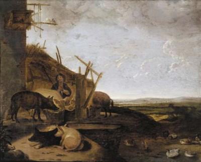 Follower of Cornelis Saftleven