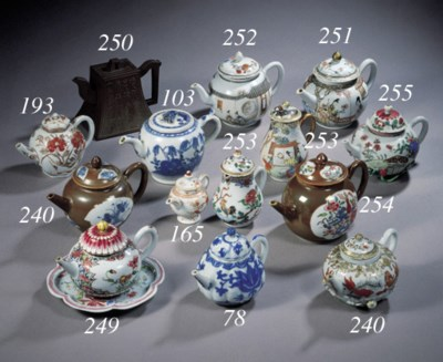 An Arita teapot and cover and