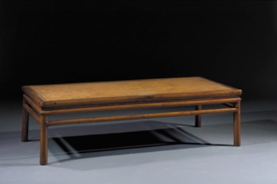 A rectangular softwood daybed