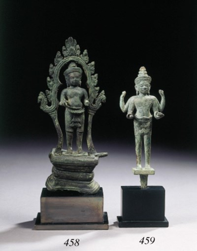 a khmer, koh ker style, bronze