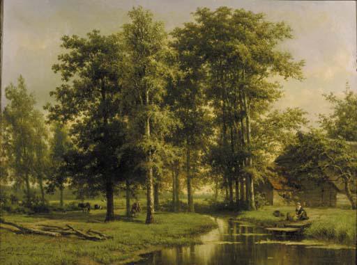 Cornelis Johannes de Vogel (Dutch, 1824-1879)