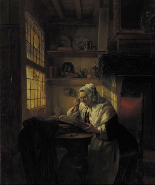 Jean Auguste Henri Baron Leys (Belgian, 1815-1869)