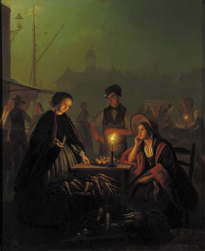 Petrus van Schendel (Dutch, 18