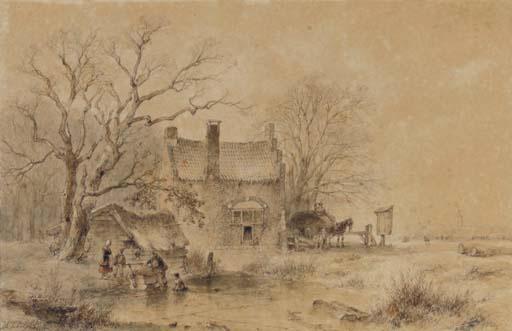 Andreas Schelfhout (Dutch, 1787-1870)