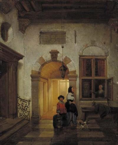 Huib van Hove Bz (Dutch, 1814-