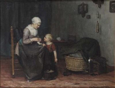 Albert Neuhuys (Dutch, 1844-19