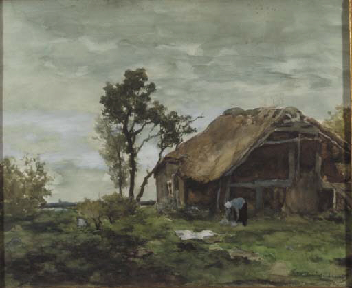 Hendrik Johannes Weissenbruch (Dutch, 1824-1903)