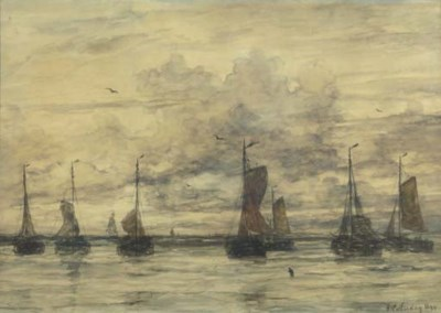 Hendrik Willem Mesdag (1831-19