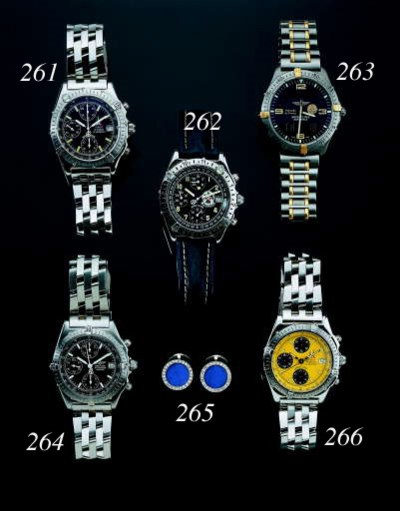 BREITLING. A STAINLESS STEEL C