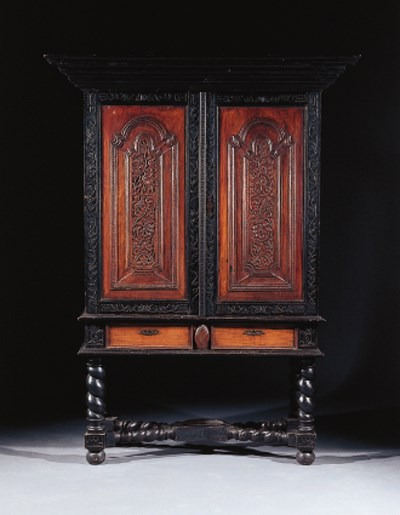 a colonial djatti and ebonised