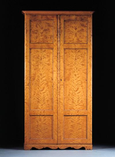 A German birch cupboard