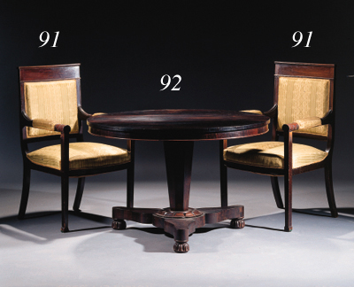 A Dutch rosewood centre table