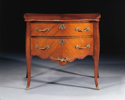A Dutch Louis XV ormolu-mounte