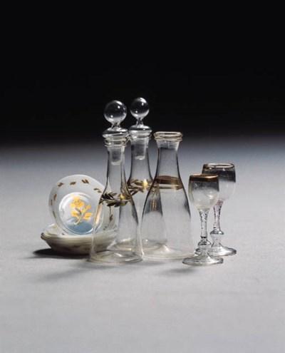 A set of ten miniature Dutch g