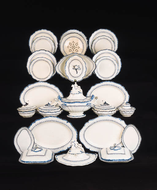 An extensive Wedgwood creamwar