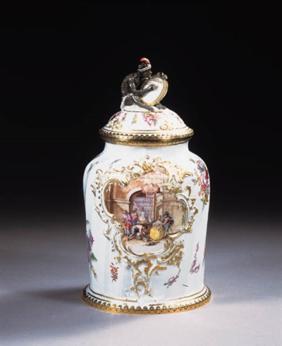A rare Furstenberg dated gilt