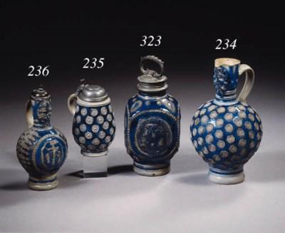A Westerwald stoneware Enghals