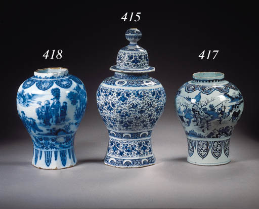 A large Dutch Delft Samuel van