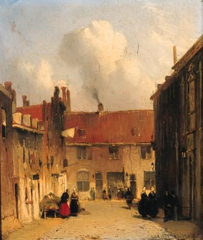 Jan Weissenbruch (Dutch, 1822-