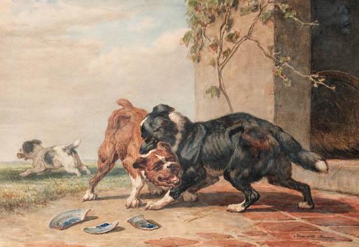 Henriëtte Ronner (Dutch, 1821-