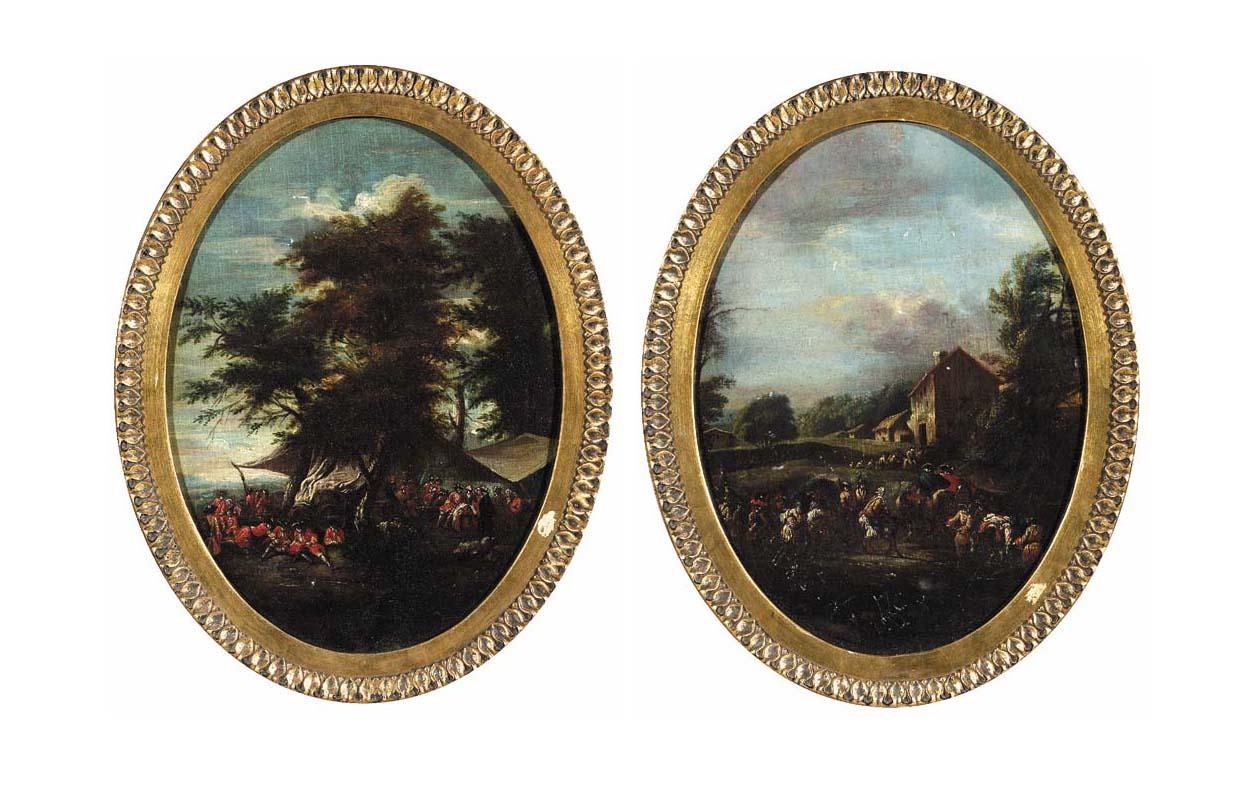 Follower of Pieter van Bredael